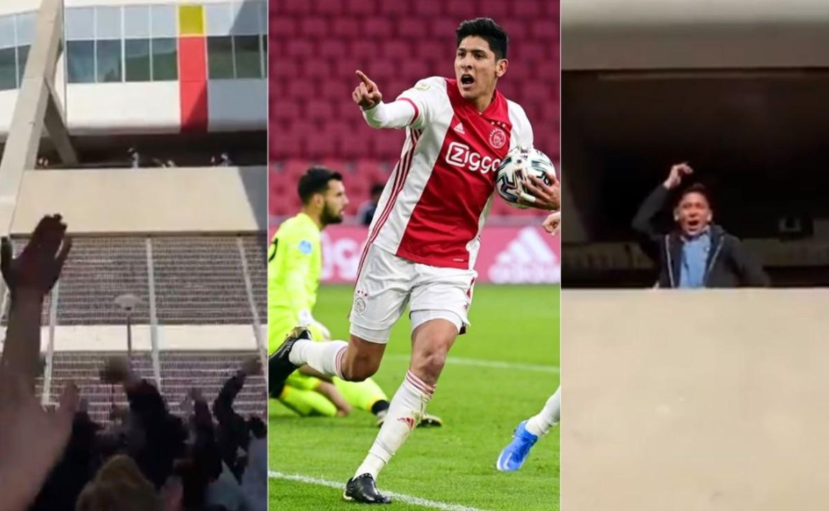 El futbolista Edson Álvarez se convierte en un ídolo para la afición del Ajax