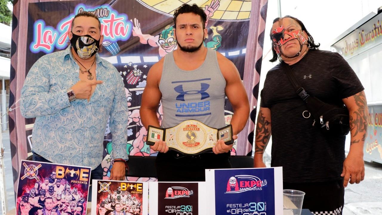 """Rey Bucanero apuesta su campeonato de la FMLL, """"tenemos que reactivar la lucha libre"""""""