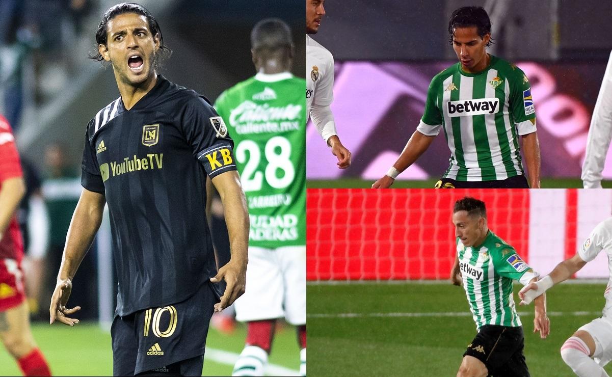 Carlos Vela dejaría al LAFC para fichar en el Betis, según la prensa española