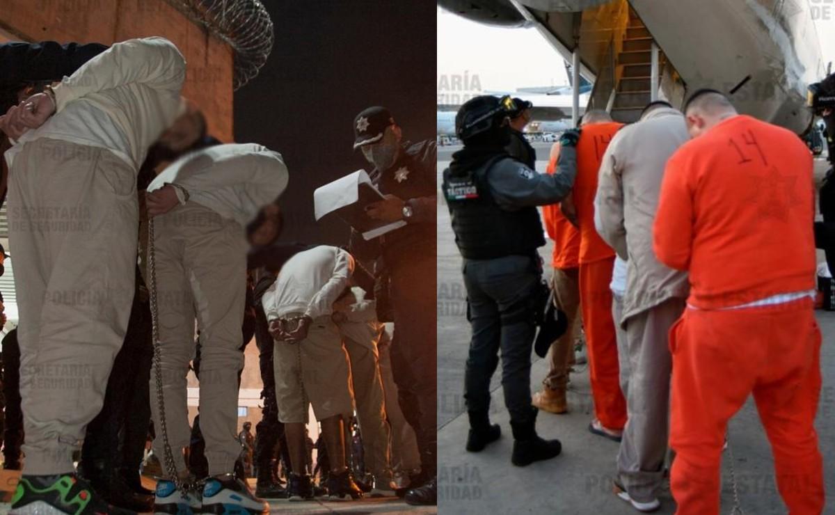 Trasladan a 85 reclusos del Edomex a penales federales, por su alta peligrosidad