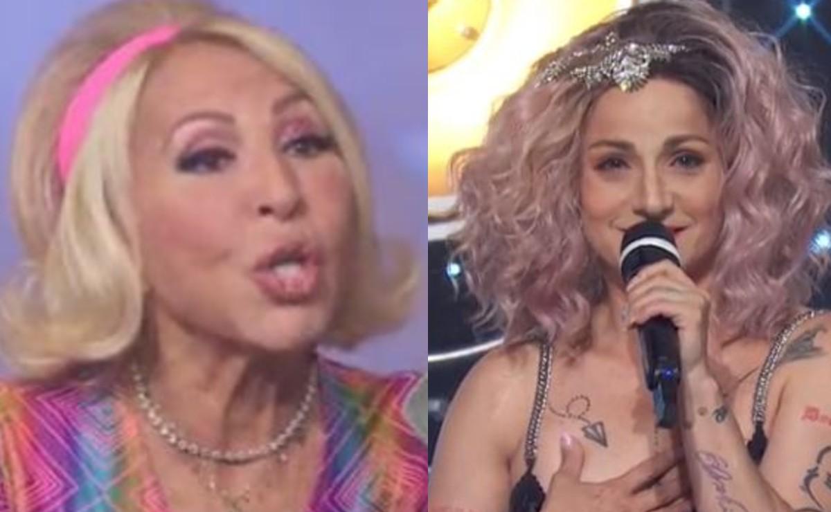 Lolita Cortés le aplica la 'Jolettiza' a Laura Bozzo en pleno programa 'Hoy' y la peruana se enchila
