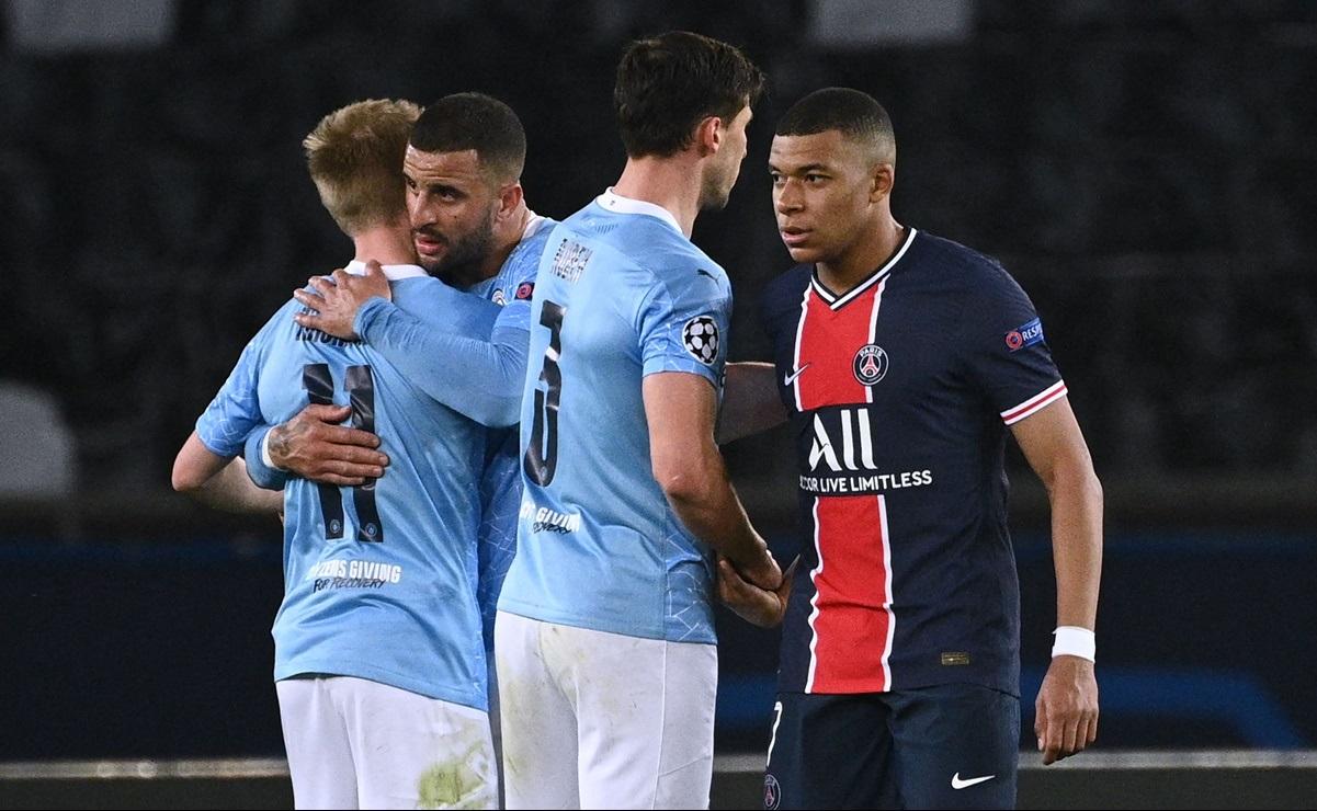 Manchester City derrota al PSG en la semifinal de ida de la Champions
