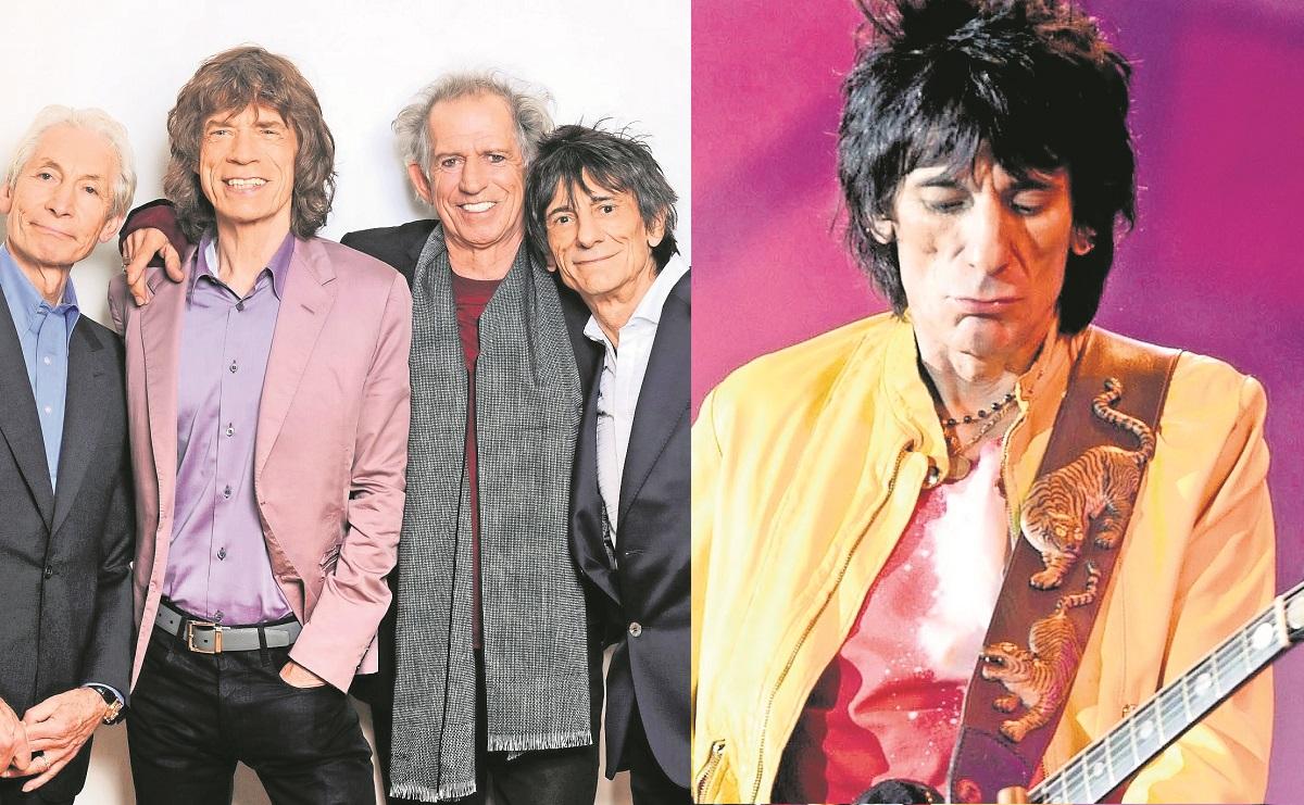 Ronnie Wood de los Rolling Stones, supera por segunda ocasión al cáncer