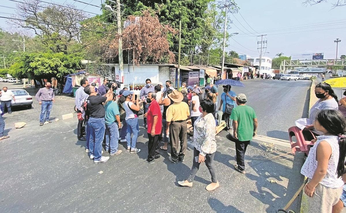 Morelenses realizan varias protestas en la capital del estado por falta de agua