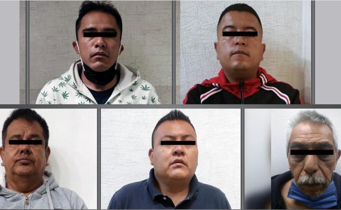 Vinculan a proceso a 4 policías y un administrativo por secuestro exprés y robo, en Edomex