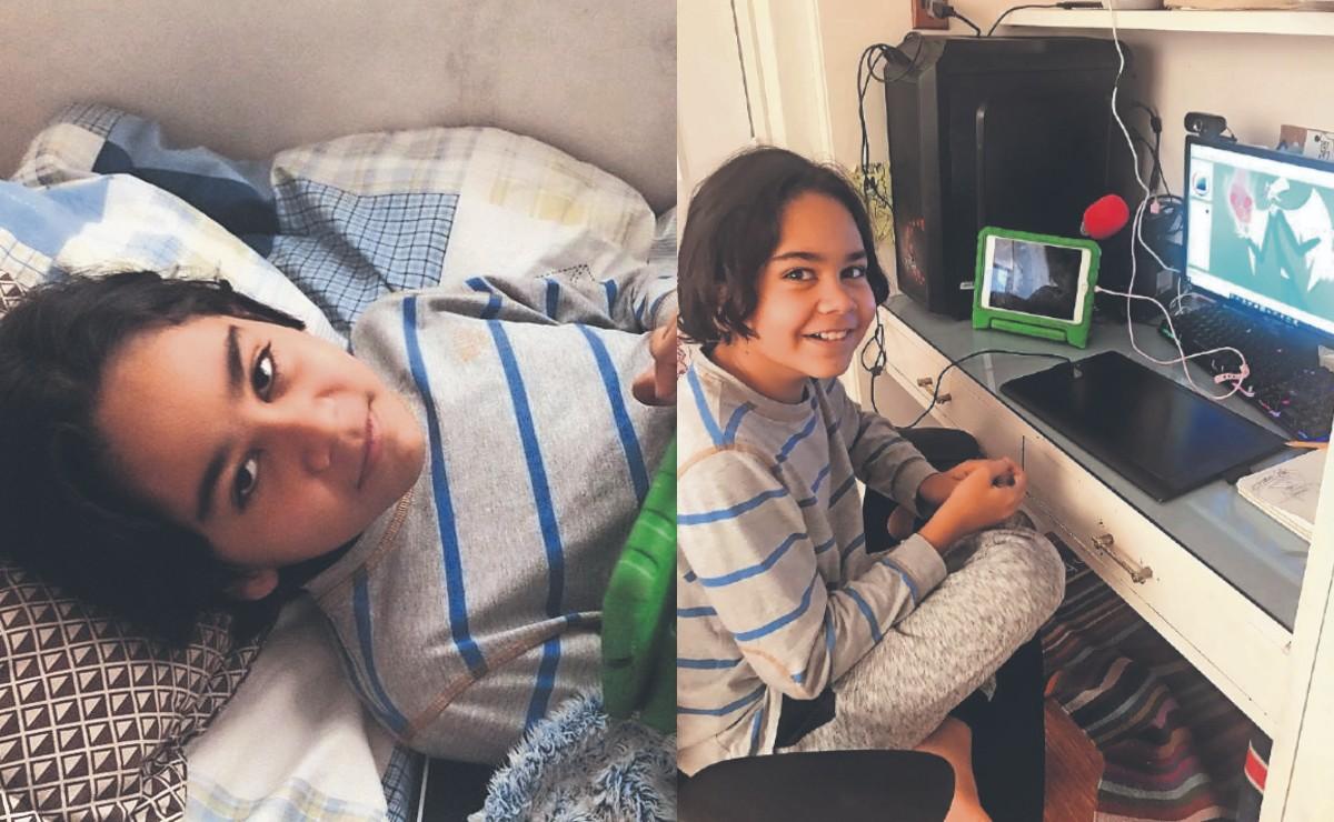 Mateo de 11 años desarrolló estos 'poderes' encerrado en su cuarto y en medio de la pandemia