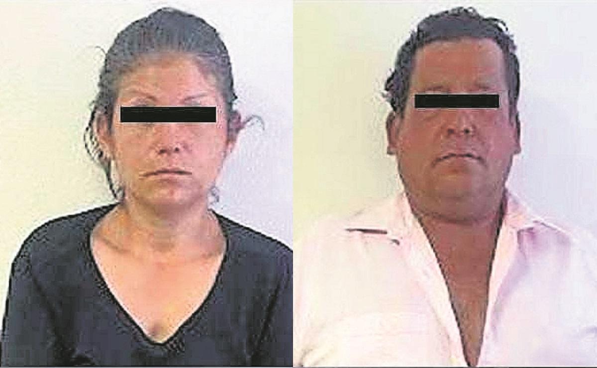 Procesan a pareja por trata de personas, la mujer vendió a su hija de 13 años en Edomex