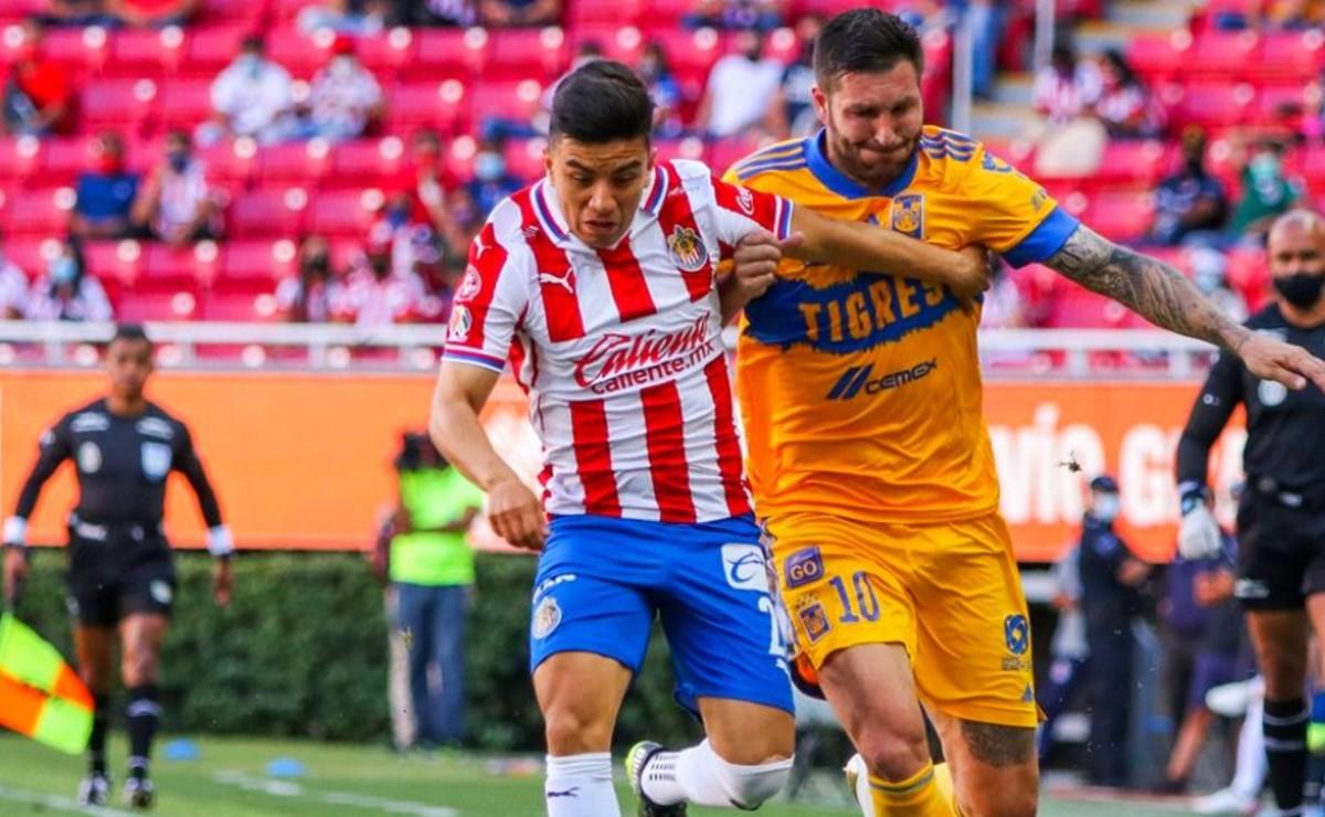 Empate entre Chivas y Tigres aseguró repechaje para ambos equipos