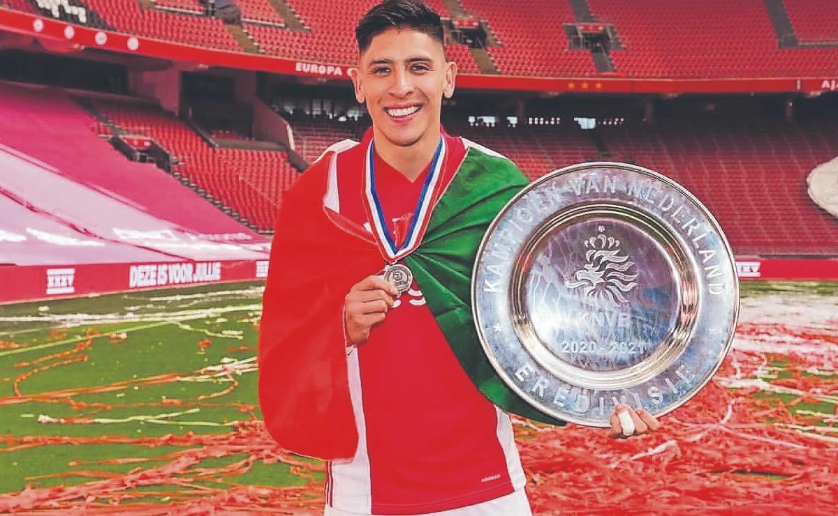 El mexicano Edson Álvarez se corona campeón de la Eredivisie, con el Ajax
