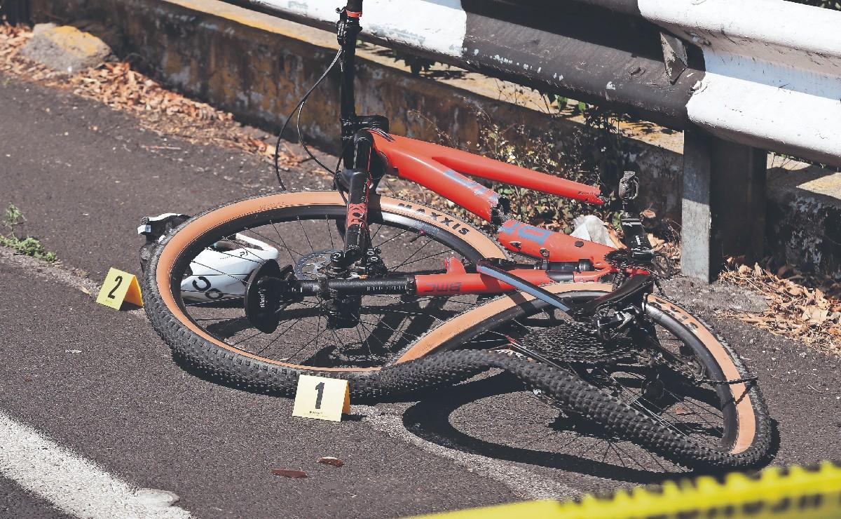 Reconocido ciclista profesional de montaña muere atropellado en la México - Toluca