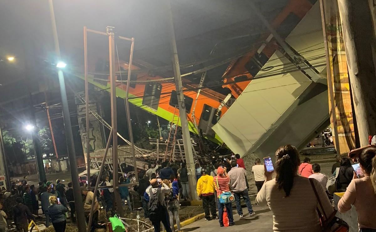 Se desploma estación Olivos del Metro; hay 20 muertos, videos del rescate y momento exacto