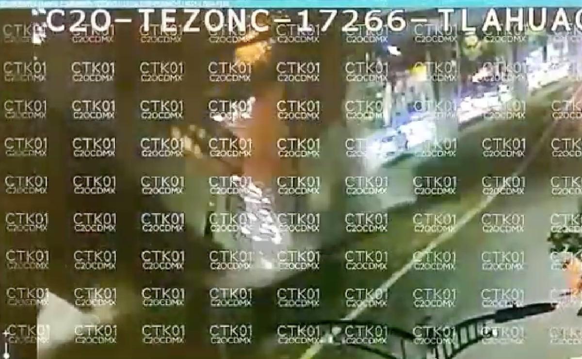 Video captó el momento exacto en que colapsa estación Olivos de la Línea 12 del Metro CDMX