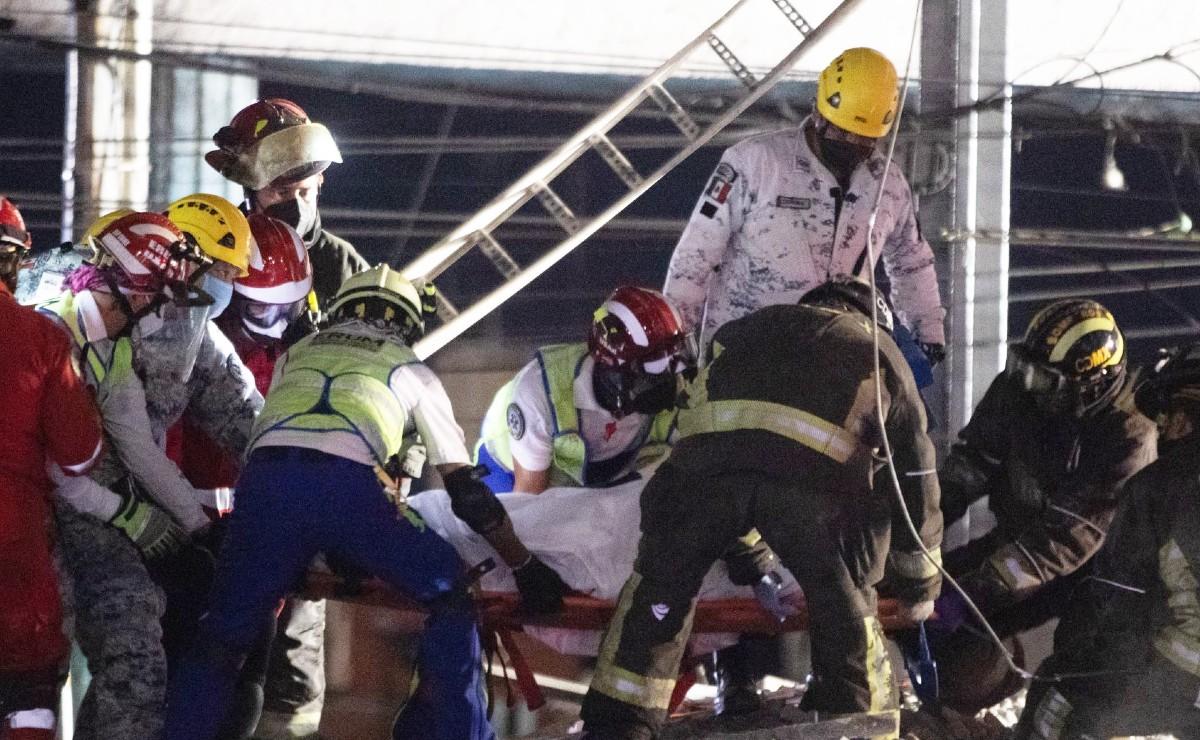 Videos del rescate de sobrevivientes del colapso de estación Olivos, en Línea 12 del Metro