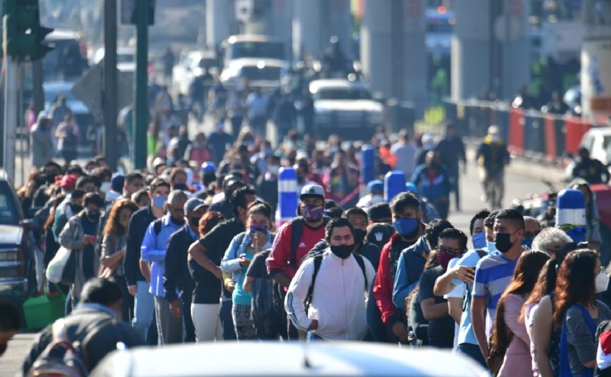 Así se vive el caos tras la suspensión de L12 del Metro, tras colapso de estación Olivos