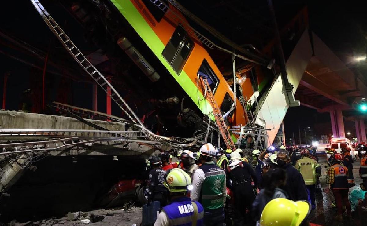 """""""Escuchamos un fuerte tronido y todo se vino abajo"""", sobreviviente de colapso del Metro Olivos"""