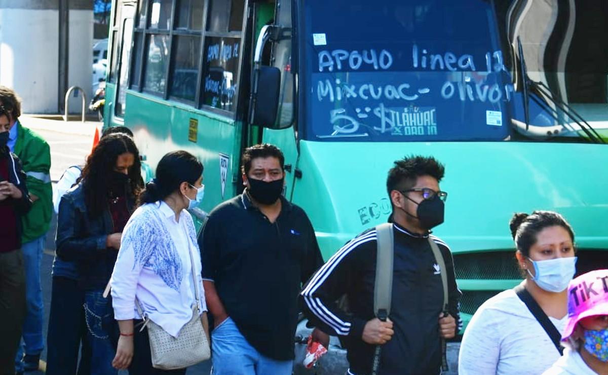 Alternativas viales y apoyo de RTP tras colapso del Metro Olivos de la Línea 12 del Metro
