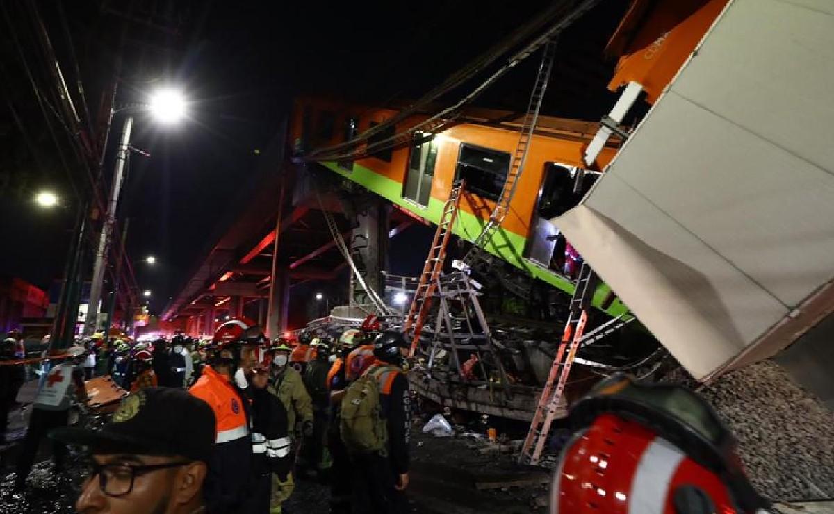 Lista de hospitalizados tras desplome del Metro Olivos, de la Línea 12