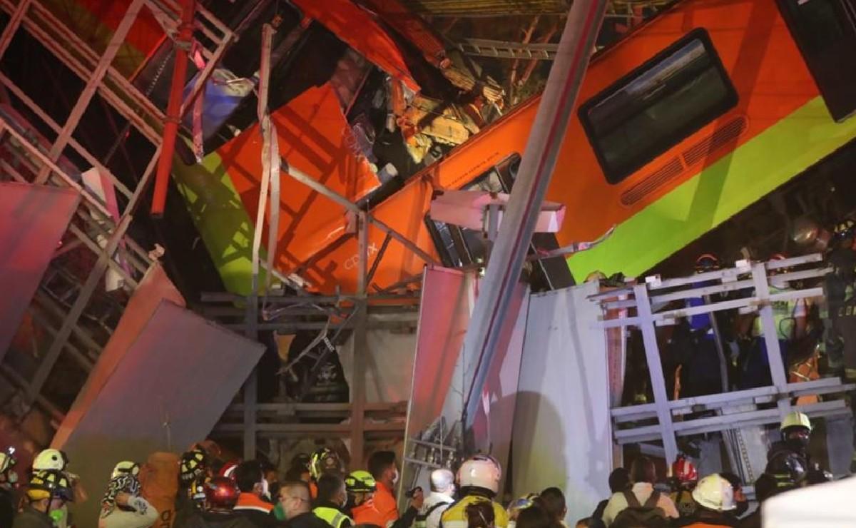 Resumen de 1 día de terror en el Metro CDMX en 1 minuto, a 24 horas del colapso mortal