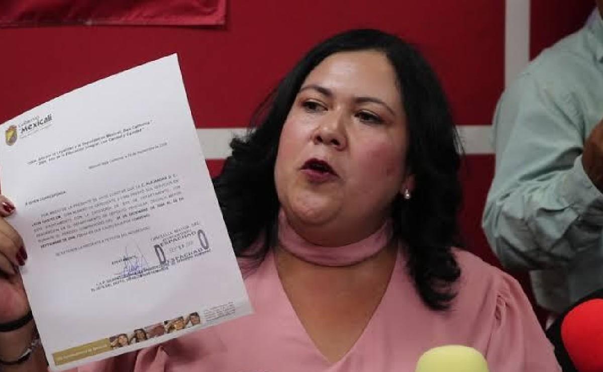 Senadora Alejandra León renuncia a Morena y se va al PES