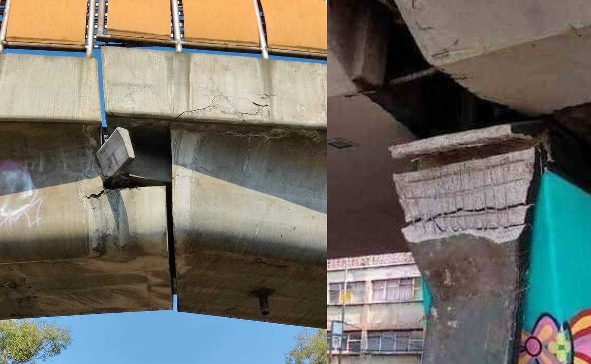 Tras colapso de estación Olivos de Línea 12 del Metro, denuncian daños en otras estaciones
