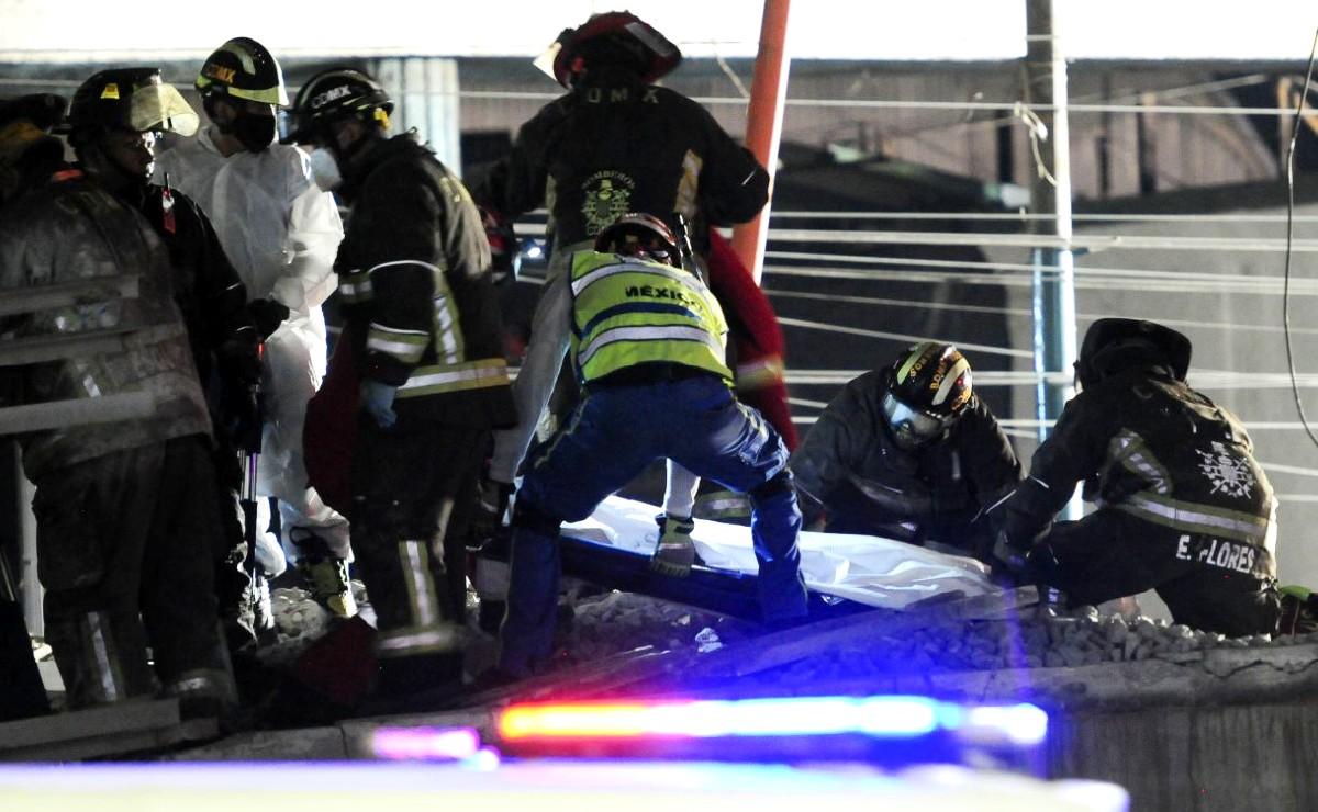 Trasladan a Iztapalapa cuerpos de fallecidos en colapso de Metro Olivos, no harán autopsia
