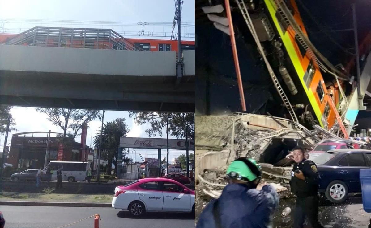 Vecinos alertaron en 2017 de colapso en estructura que soportaba estación Olivos, de Línea 12