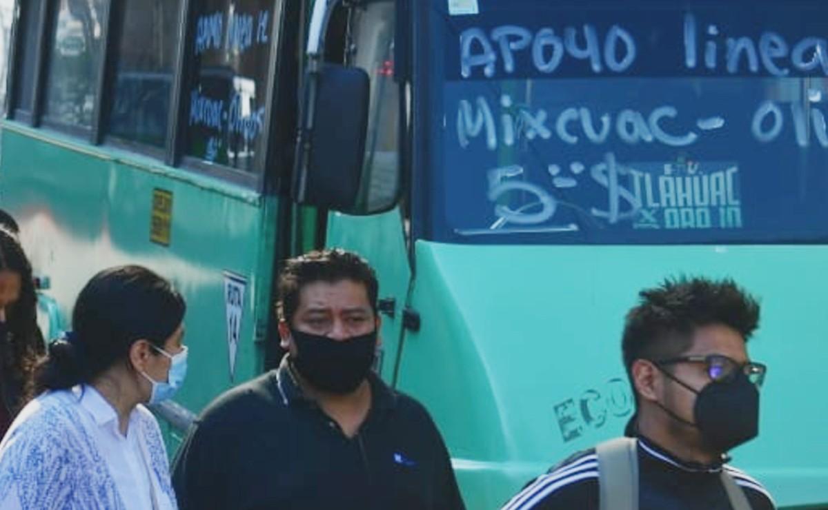 Autobuses RTP apoyarán con servicio de Mixcoac a Tláhuac tras colapso del Metro Olivos