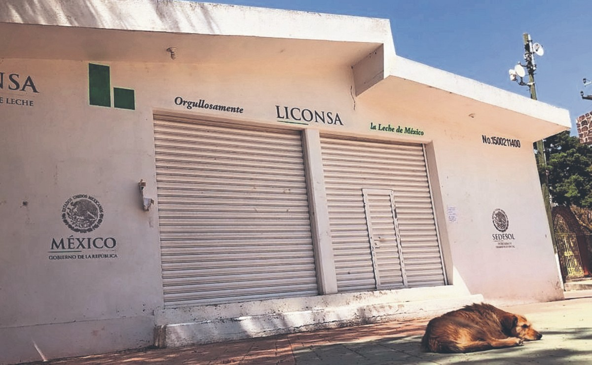 Habitantes del Valle de México se quedan sin leche Liconsa por segundo día consecutivo
