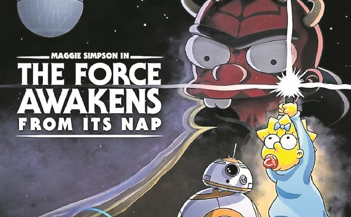 Los Simpson celebran el Día de Star Wars con un corto en Disney+