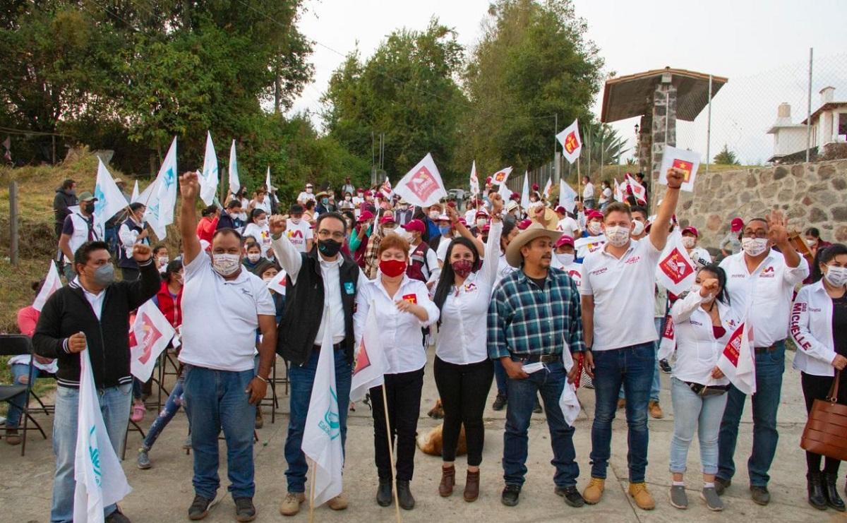 Michelle Núñez ofrece atender rezago en obra pública y deporte en Valle de Bravo