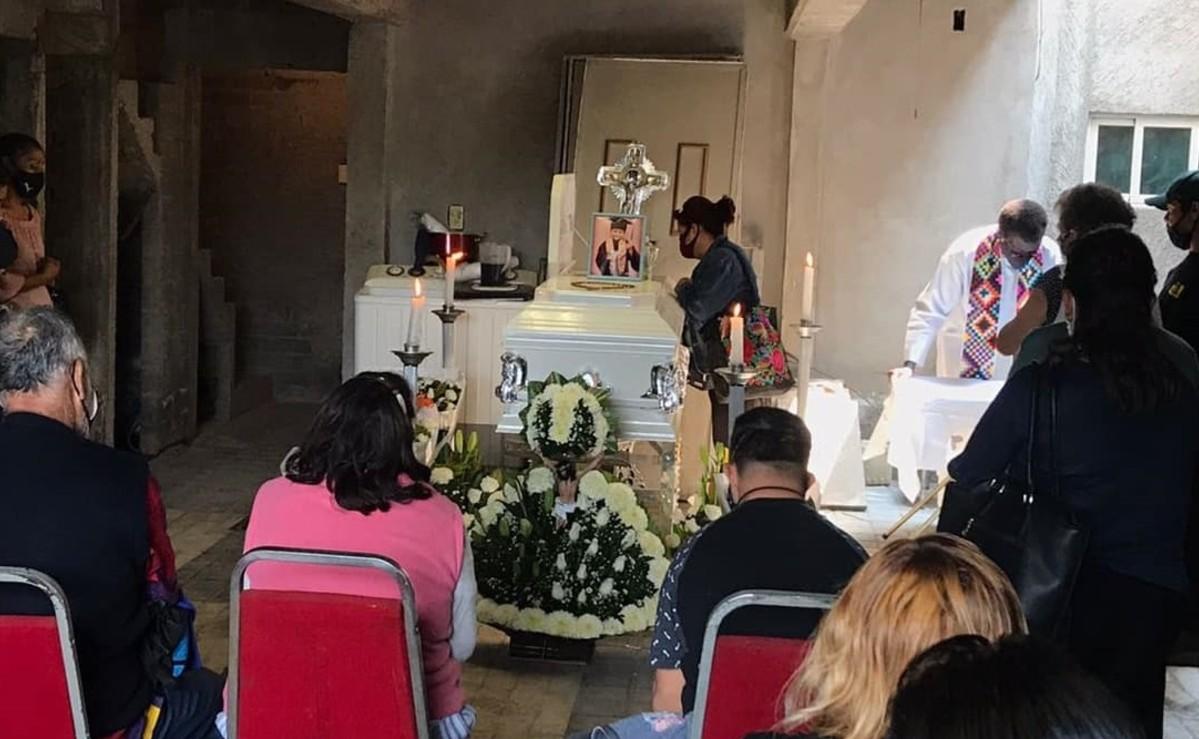 Velan el cuerpo de Brandon Giovanny, el niño que murió en el colapso del Metro Olivos