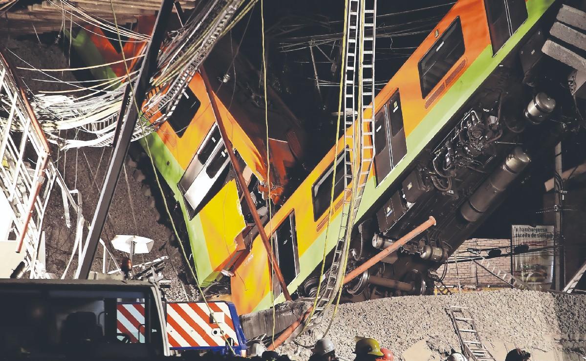 La FGJ abre 8 carpetas de investigación por colapso de Línea 12 del Metro