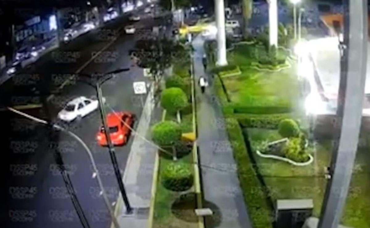 Revelan el video de otro ángulo del colapso de la Línea 12 del Metro, en estación Olivos