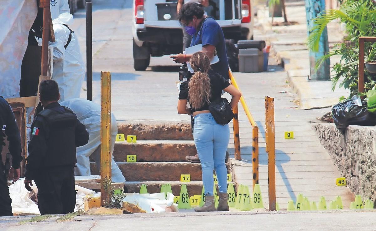 """Asesinan a """"El Barrigas"""" con más de 70 balazos en Cuernavaca"""