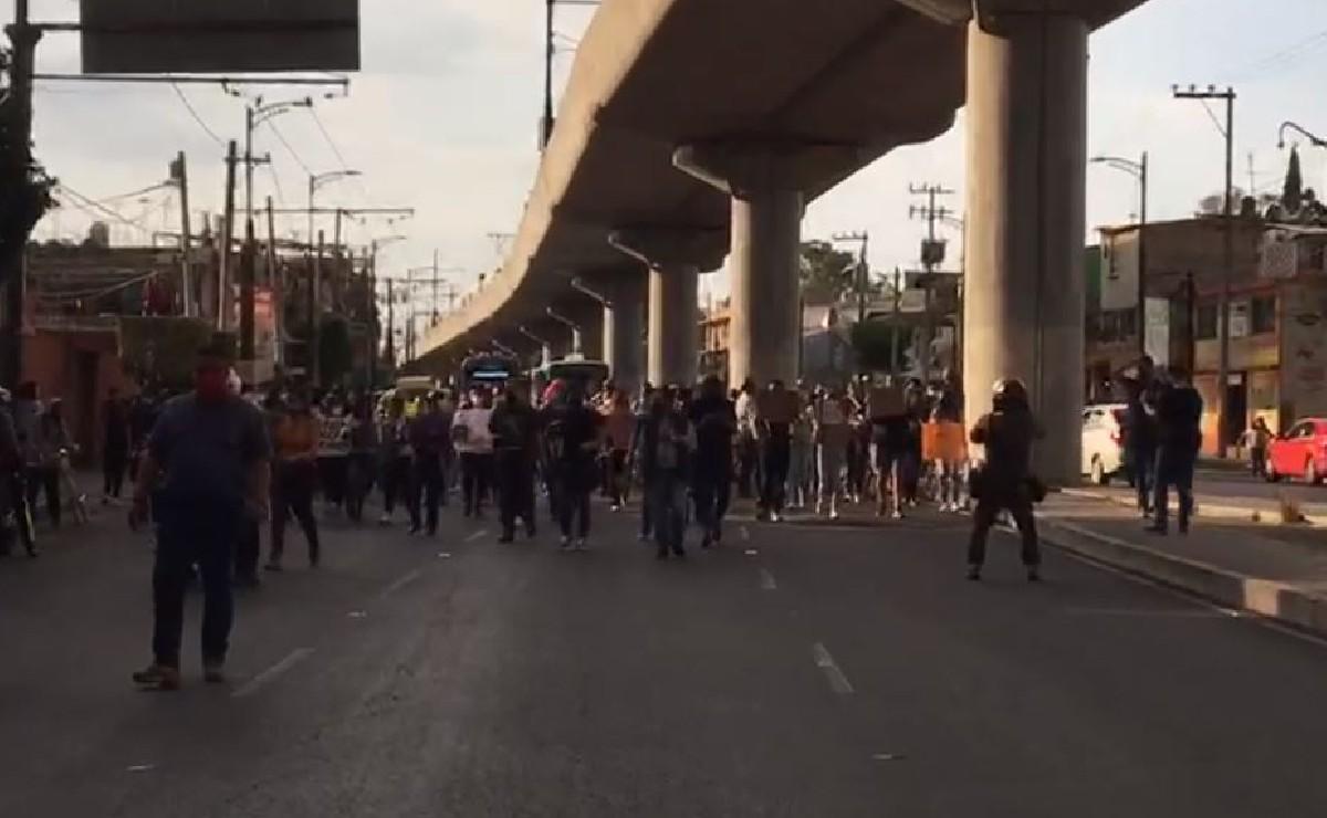 (VIDEOS) Marchan por víctimas del colapso en la Línea 12 del Metro