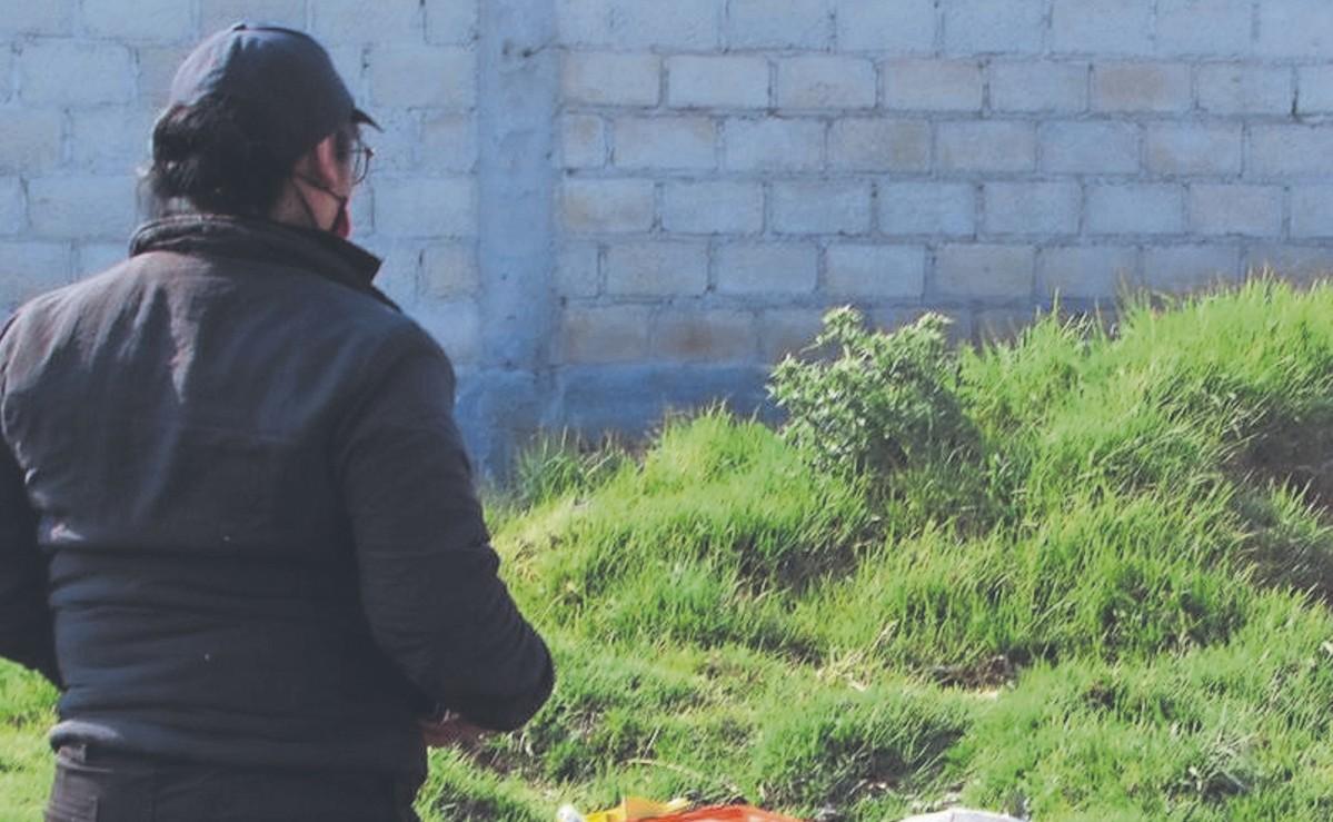 Avientan el cadáver de un joven con huellas de tortura, en una carretera del Edomex