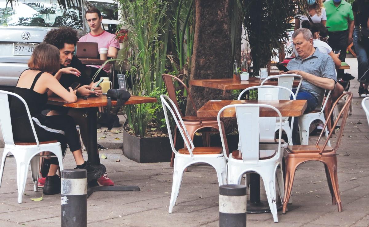 Con restaurantes vacíos, se vivió el fin de semana previo al Día de las Madres en CDMX