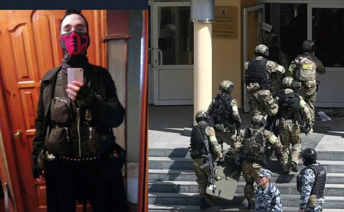 Estudiantes armados acribillan al menos a 10 personas, en una escuela de Rusia