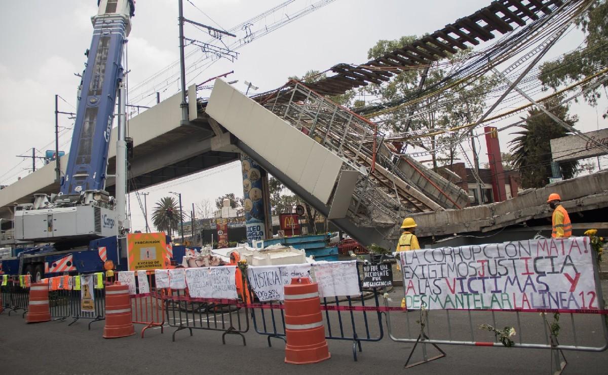 Fiscalía CDMX suma 13 carpetas de investigación relacionadas con colapso en L12 del Metro