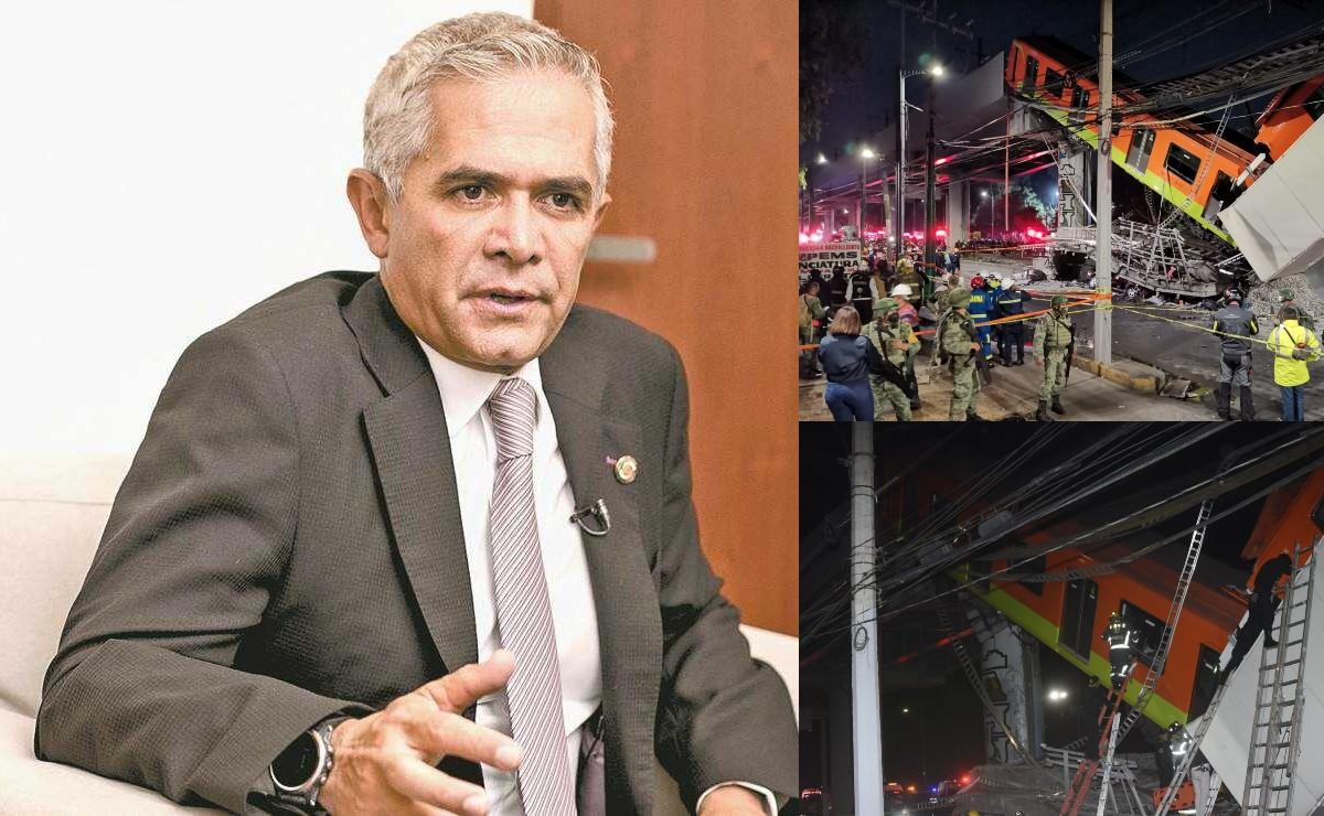 """Miguel Ángel Mancera responde ante acusaciones de colapso en el Metro, """"no voy a meterme"""""""