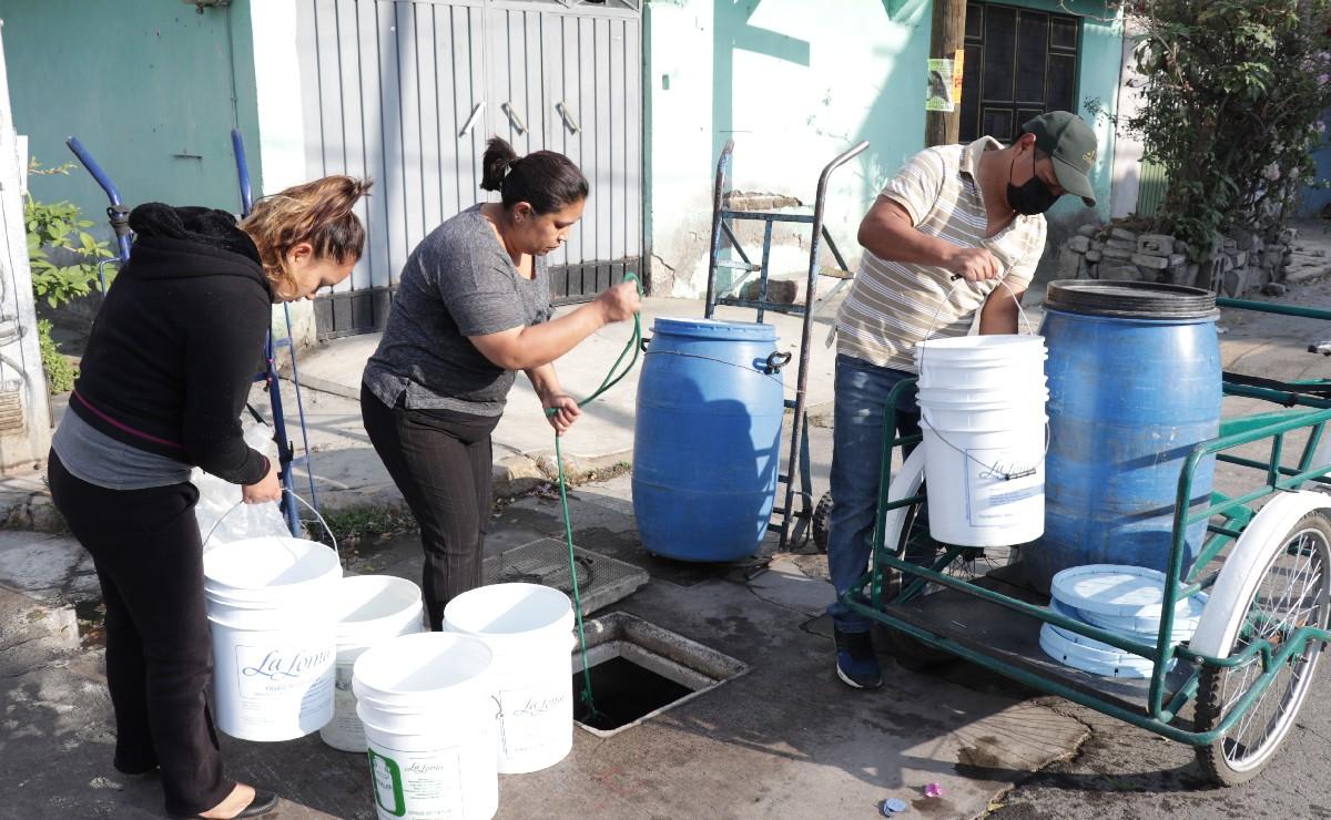 Anuncian reducción de agua en 12 alcaldías de CDMX desde este domingo, durará todo el año