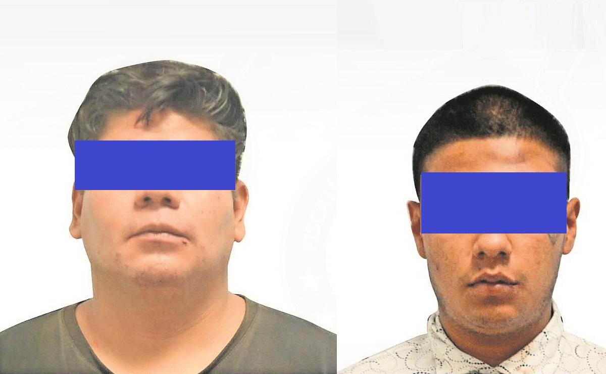 Detienen a dos hombres por extorsión a gerente de restaurante-bar de Cuernavaca