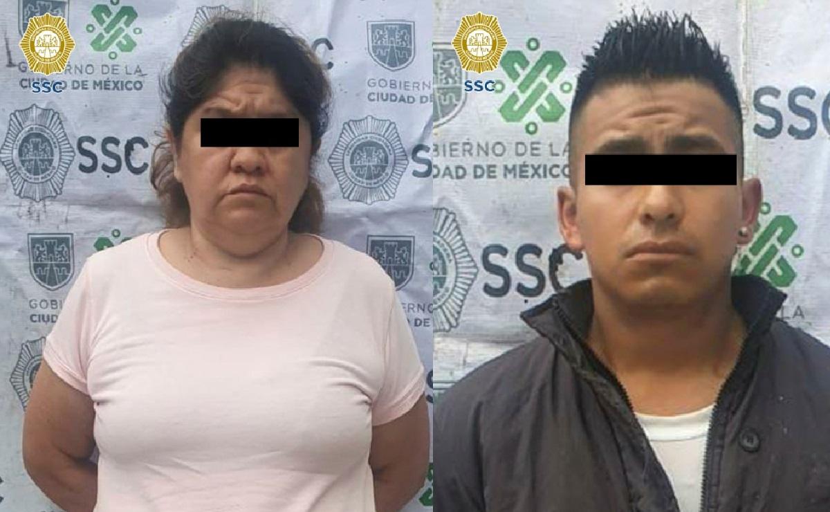 Caen 2 presuntos narcomenudistas en la Cuauhtémoc con 96 bolsitas de marihuana
