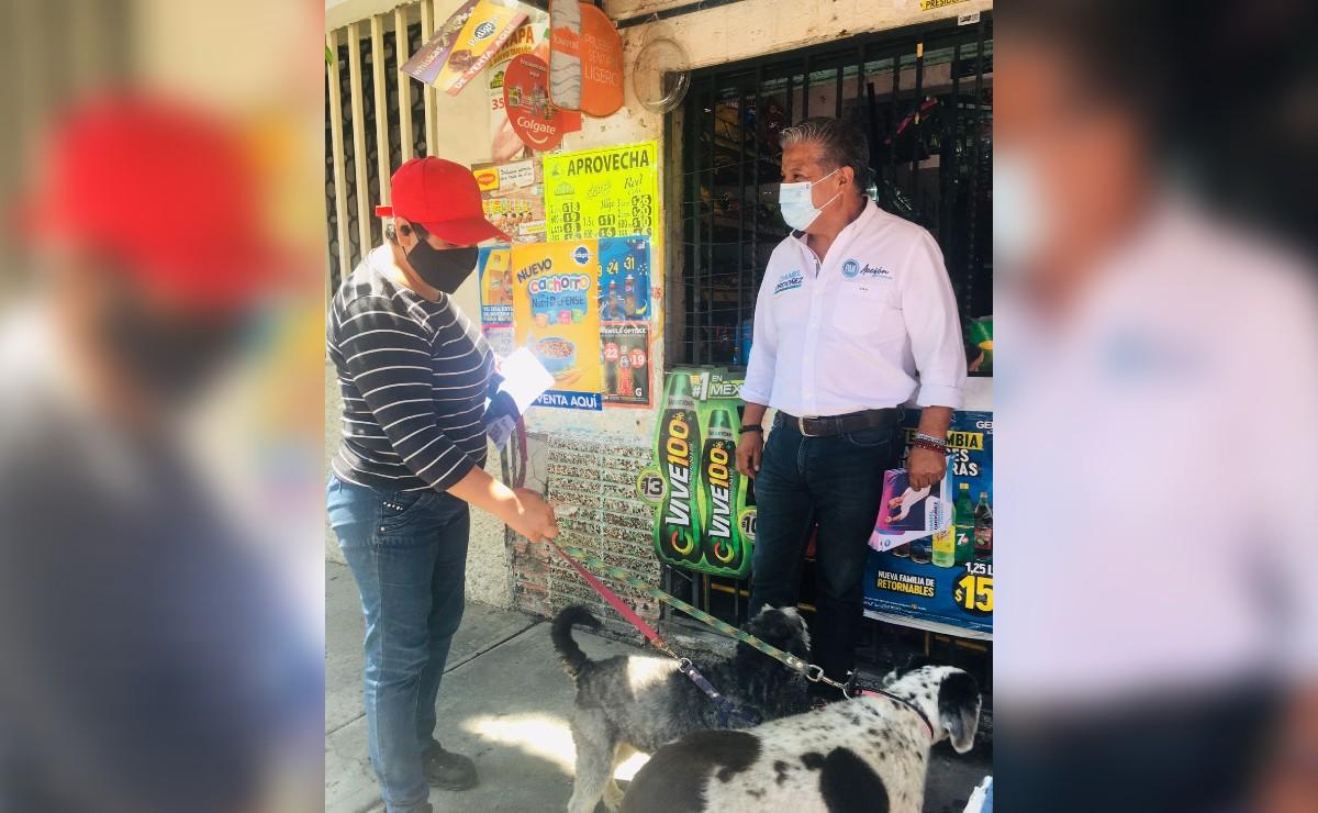 Candidato del PAN a alcalde de Iztacalco propone regular locales y puestos semifijos