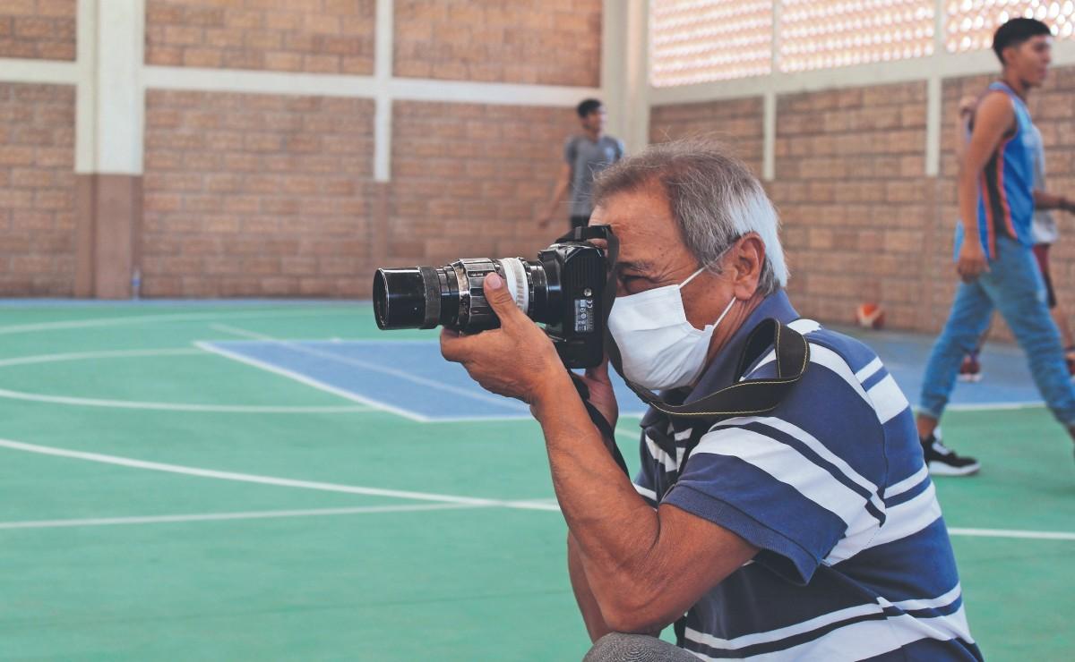 Jorge Medina, el veterano de la lente que se ha forjado en los mejores eventos deportivos