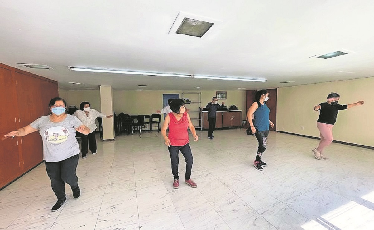 A más de un año de Covid, retoman talleres y actividades deportivas en el IMSS del Edomex