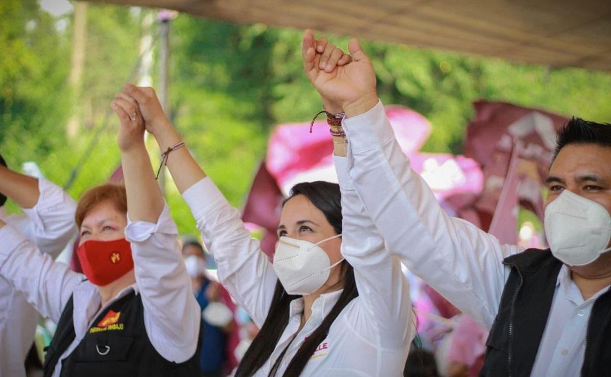 Candidata de Morena al gobierno municipal de Valle de Bravo promete atención médica de calidad
