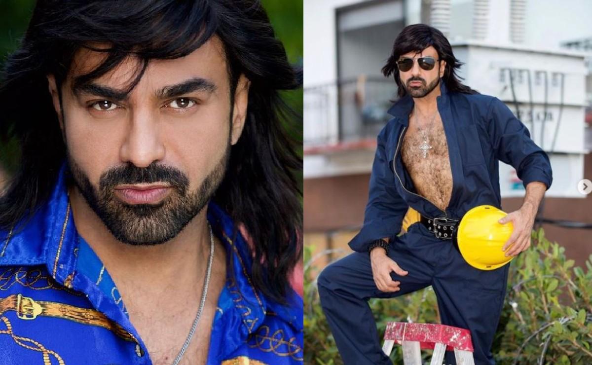 Ariel Miramontes 'Albertano' se quita la ropa y alborota con fotos de su velludo cuerpo