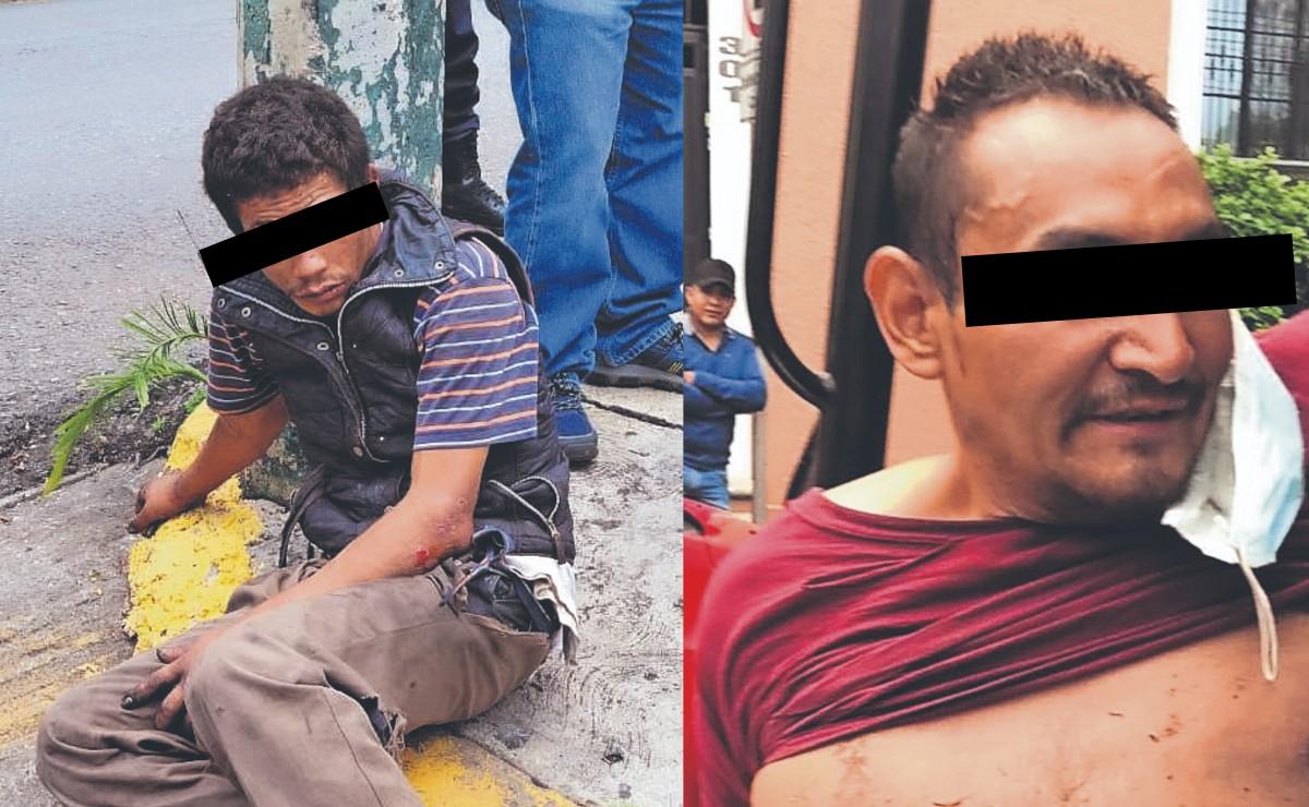 Dan golpiza a dos asaltantes en hechos diferentes en Cuernavaca