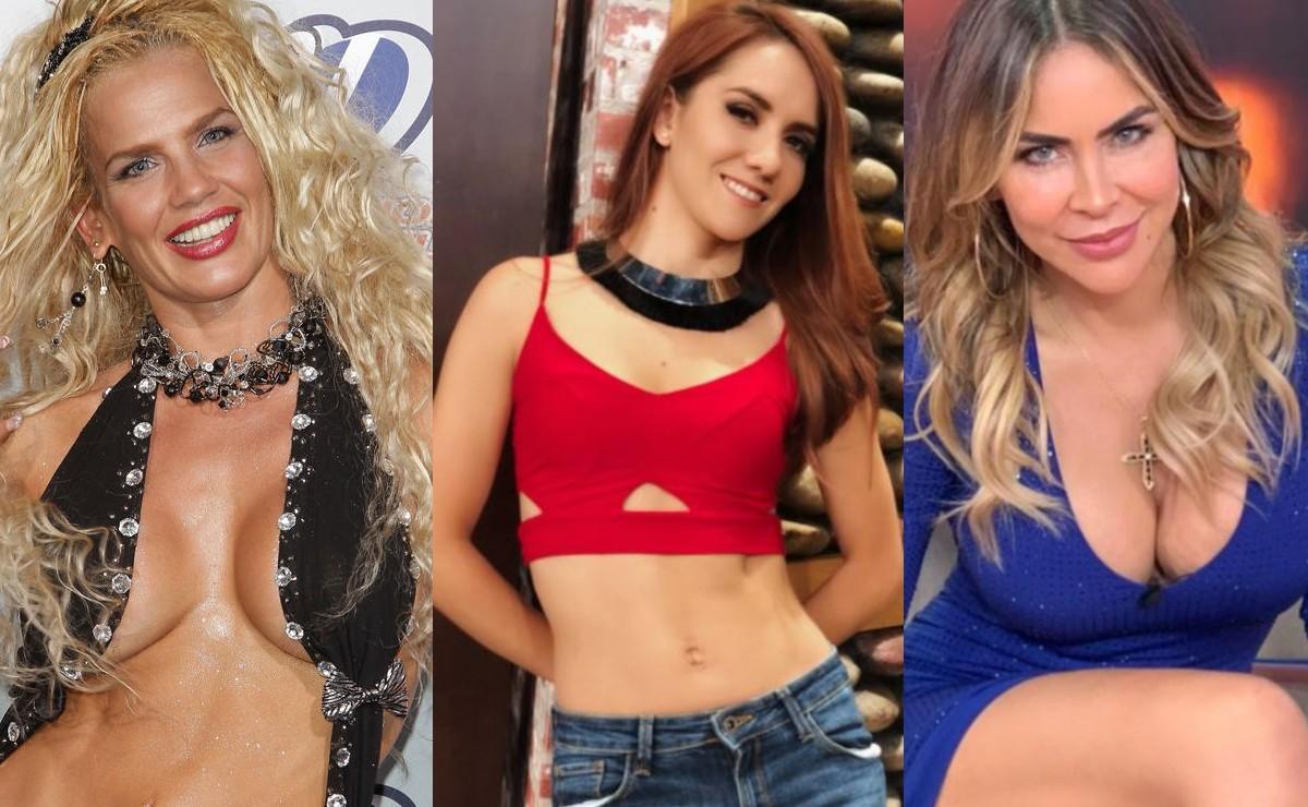 Niurka y otras famosas que han mostrado sus pechos desnudos en vivo, en la TV mexicana